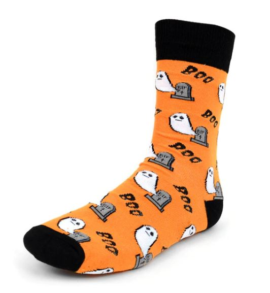 Parquet Men's Halloween Ghost Novelty Socks
