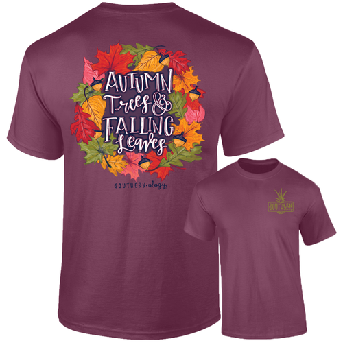 Southernology Autumn Leaves Short Sleeve T-shirt