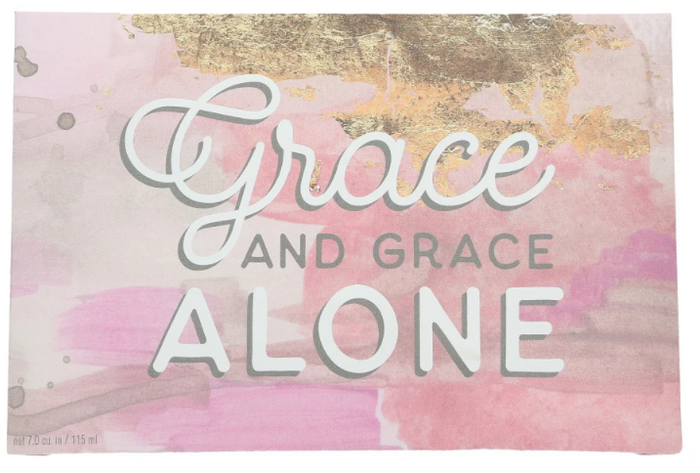 "Bridgewater Candle Company ""Grace Alone"" Inspirational Quote Sweet Grace Scented Sachet"