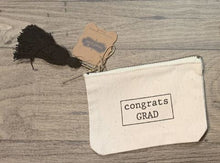 Load image into Gallery viewer, MUD PIE GRADUATION CANVAS POUCHES