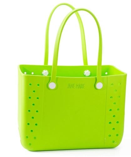 Jane Marie Lemon Lime All Purpose Large Tote