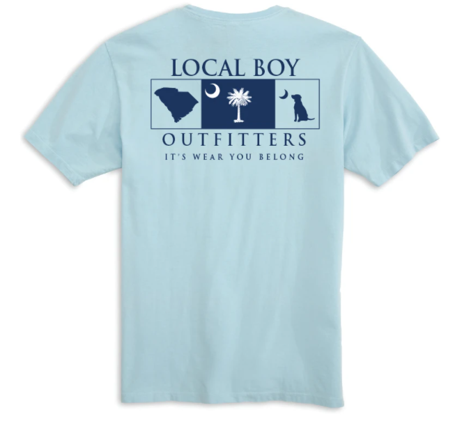 Local Boy Outfitters Home State South Carolina T-Shirt