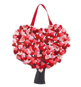 EVERGREEN LOVE TREE DOOR DECOR