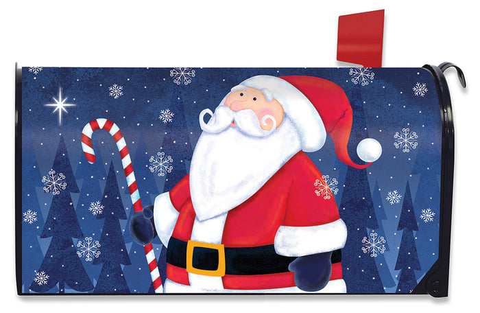 Briarwood Lane North Star Santa Mailbox Cover