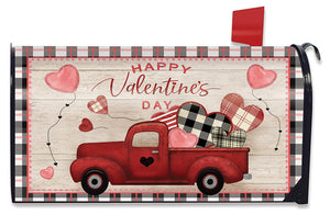 Briarwood Lane Valentine's Love Pickup Large Mailbox Cover