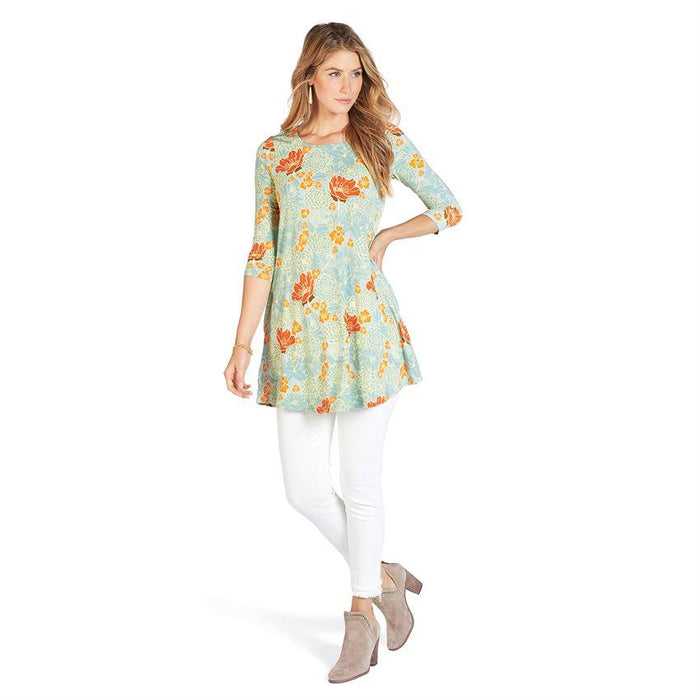 Coco + Carmen Botanical Gardens Essential Tunic Dress