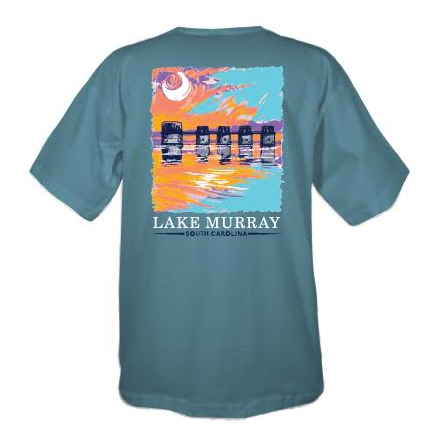 Painted Lake Murray Short Sleeve T-shirt