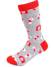 Load image into Gallery viewer, Parquet Ladies Nursing Crew Socks