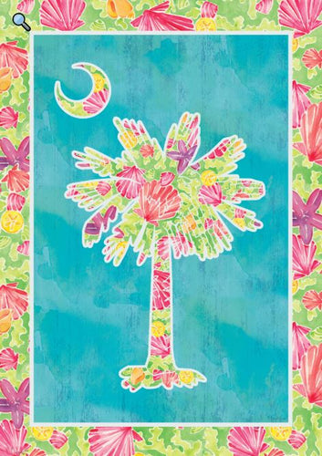 CUSTOM DECOR PALMETTO BRIGHT HOUSE FLAG