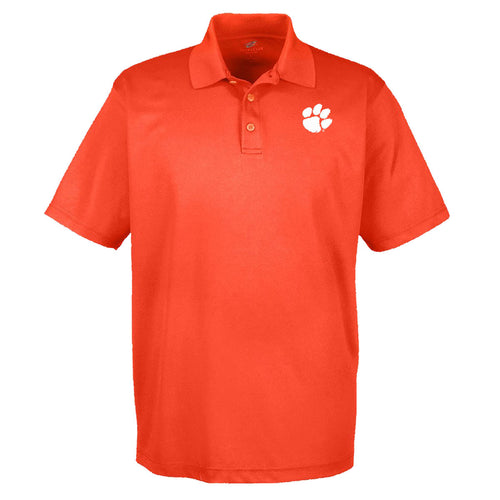 PALMETTO SHIRT CO. CLEMSON PIQUE GOLF POLO - ORANGE