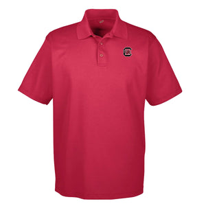 PALMETTO SHIRT CO. USC PIQUE GOLF POLO - CARDINAL