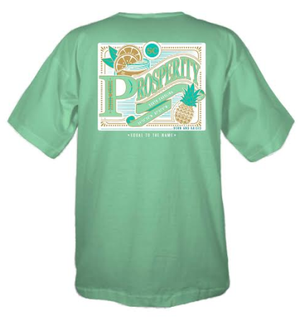 Prosperity Coordinates Short Sleeve T-shirt