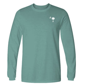 Palmetto Pumpkin Long Sleeve T-shirt