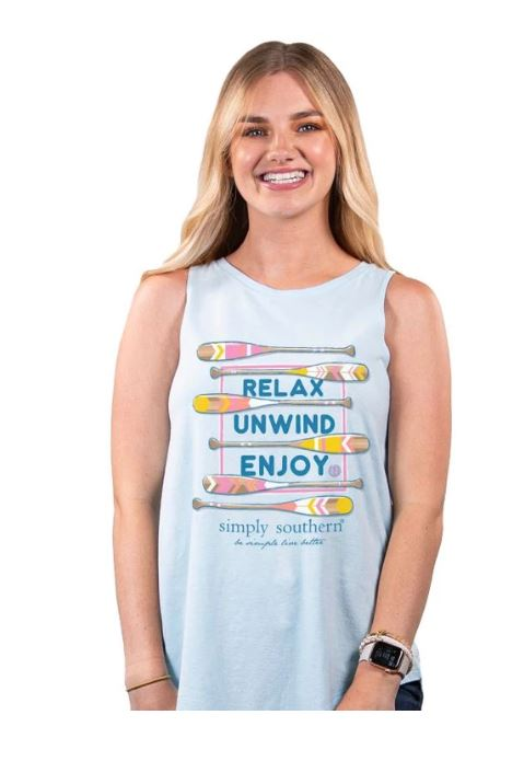 Simply Southern Relax Tank