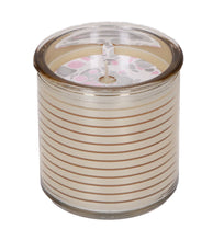 Load image into Gallery viewer, Bridgewater Candle Company Sweet Grace Shiny Metallic Stripes Candle