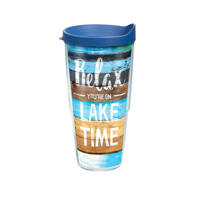 Tervis Relax You Are On Lake Time Tumbler