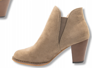 Simply Southern Collection Tan Heeled Booties