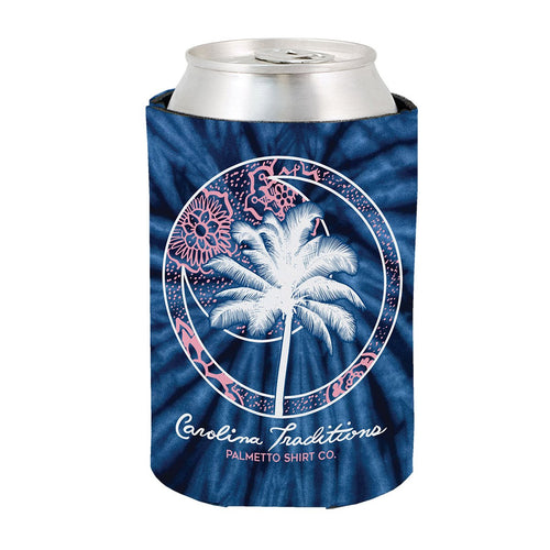 Palmetto Shirt Co. Palmetto Tie Dye Reversible Koozie