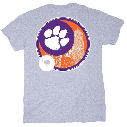 Palmetto Shirt Co. Clemson Circle Short Sleeve T-shirt