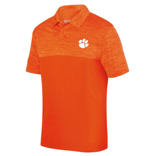 PALMETTO SHIRT CO. CLEMSON TONAL POLO - ORANGE