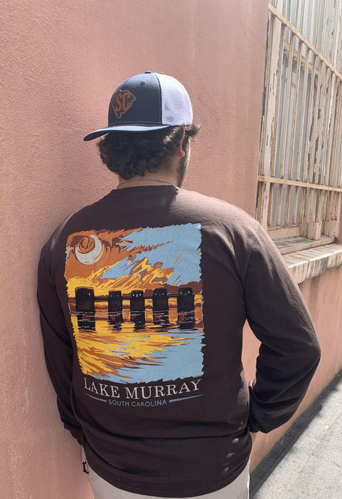 Fall Painted Lake Murray Long Sleeve T-shirt
