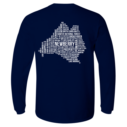 KOSS CUSTOM DESIGN - LONG SLEEVE NEWBERRY COUNTY WORDS