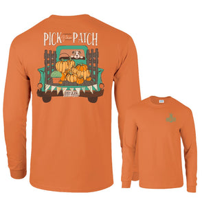 Southernology Pick of the Patch Long Sleeve T-shirt