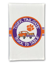 Load image into Gallery viewer, Magnolia Lane Clemson University Truck Towel