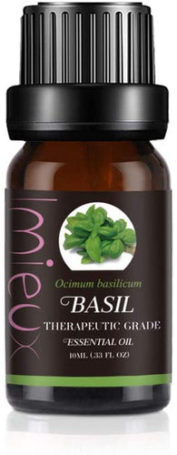 IMIEUX Therapeutic Grade Essential Oils 10ml - Basil
