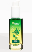Load image into Gallery viewer, Garnier Organic Hemp Multi-Restore Facial Sleeping Oil 30ml