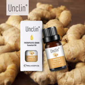 Unclin Therapeutic 100% Pure Natural Essential Oil - Ginger