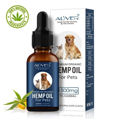 Aliver Premium Organic Hemp Oil for pets 1500mg-EssenceHempOil