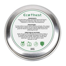 Load image into Gallery viewer, ECO finest 100% Organic Hemp Balm-EssenceHempOil