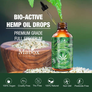 MABOX Bio-Active Hemp Oil drops 2000mg-EssenceHempOil