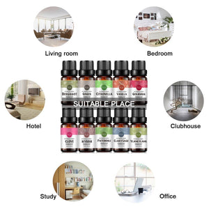 Rainbow Abby Pure Essential Oil For Aromatherapy 10ml-EssenceHempOil