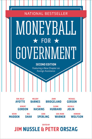 Moneyball for Government book cover