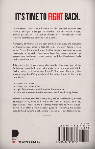 The Resistance Handbook book cover back