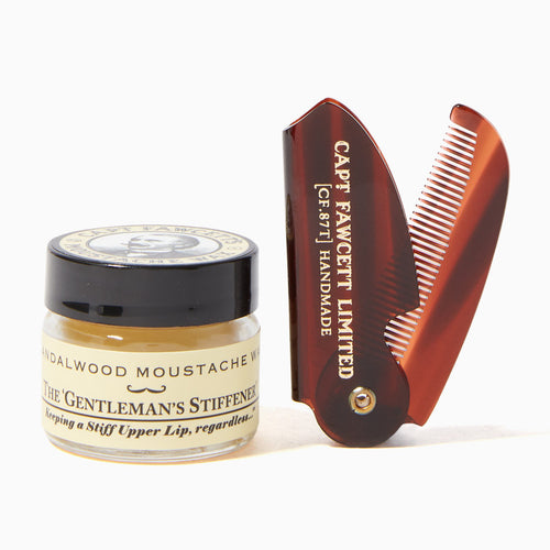 Captain-Fawcetts-Sandalwood-Moustache-Wax-and-Folding-Comb-Set-nz