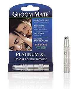 Groom Mate - Platinum XL Nose Hair Trimmer