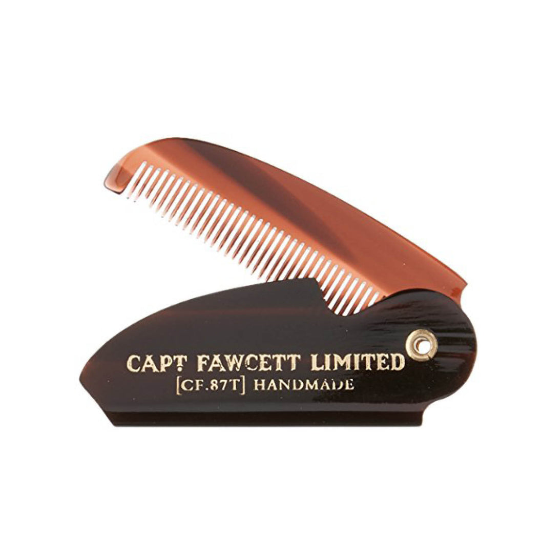 Captain Fawsett's - Folding Pocket Moustache Comb