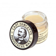 Load image into Gallery viewer, Captain-Fawcetts-Sandalwood-Moustache-Wax-and-Folding-Comb-Set-nz