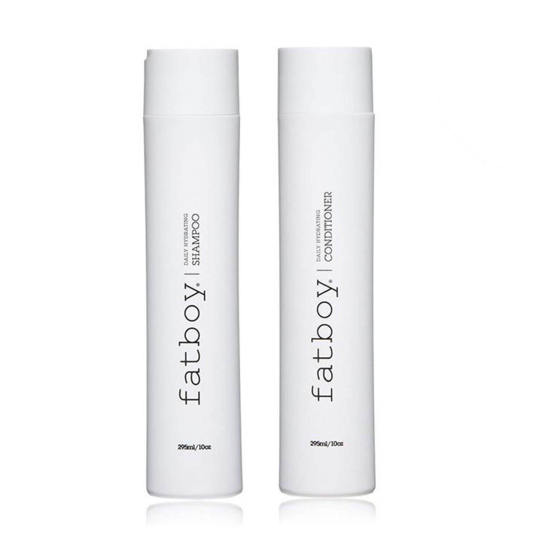 Fatboy - Daily Hydrating Shampoo + Conditioner (295ml each)
