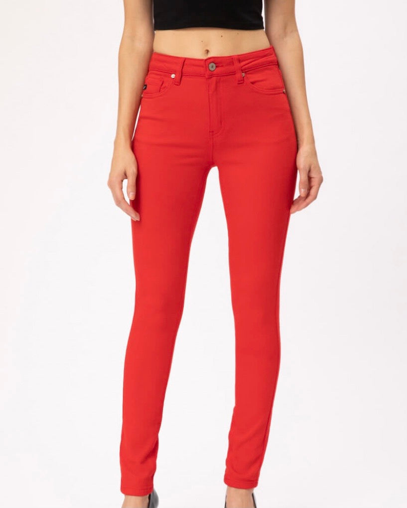 KANCAN COLORED SKINNY JEANS