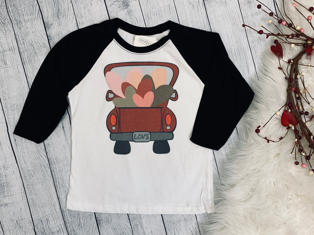 Kids Valentine's Long Sleeve Tee