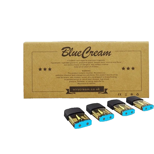Airscream Blue Cream 3.6% & 5% Vape Pod