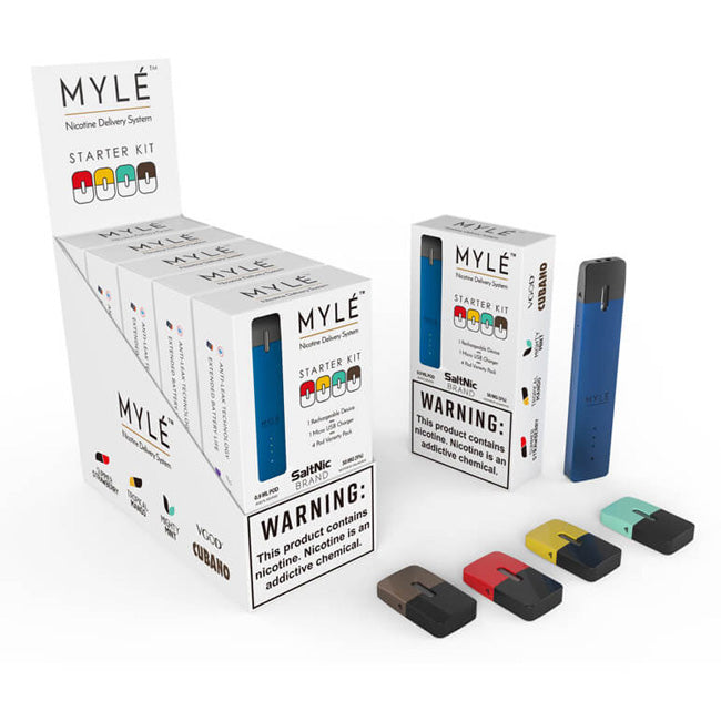 Myle Royal Blue Starter Kit