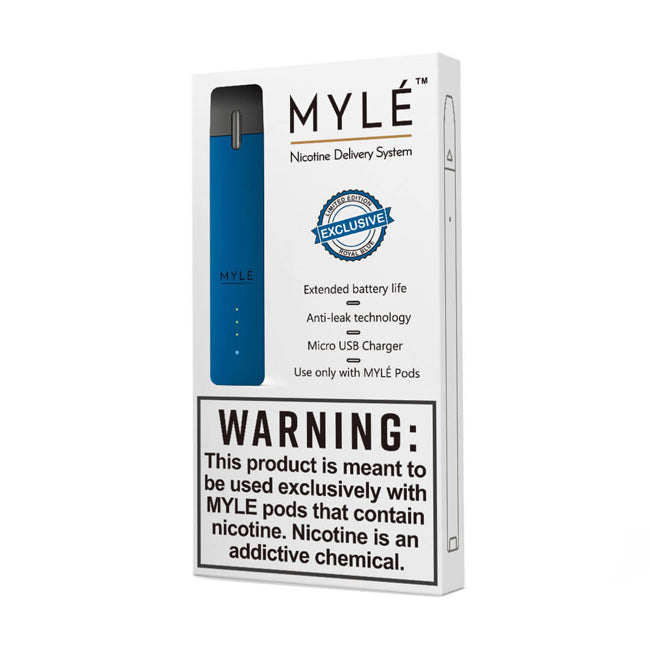 Myle Royal Blue Vape Pod Device