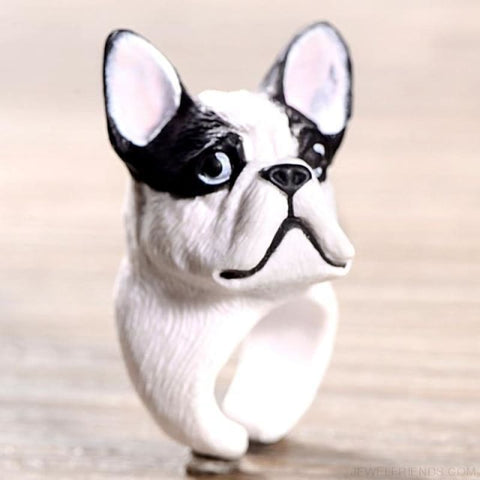 3D Animal Rings - Dog 1 - Custom Made | Free Shipping