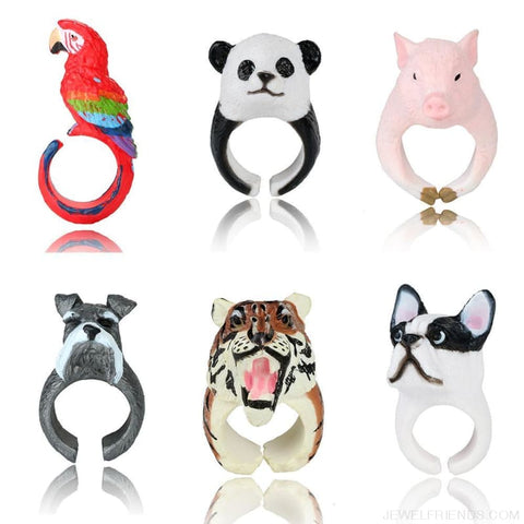 Image of 3D Animal Rings - Custom Made | Free Shipping