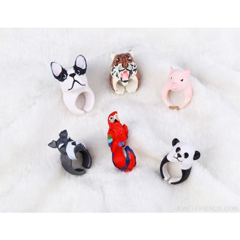 3D Animal Rings - Custom Made | Free Shipping